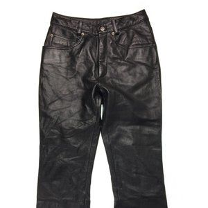 WILSON MAXIMA Womens Genuine Leather Pants Size 8
